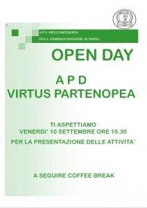 virtuspartenopea-open-day-2021